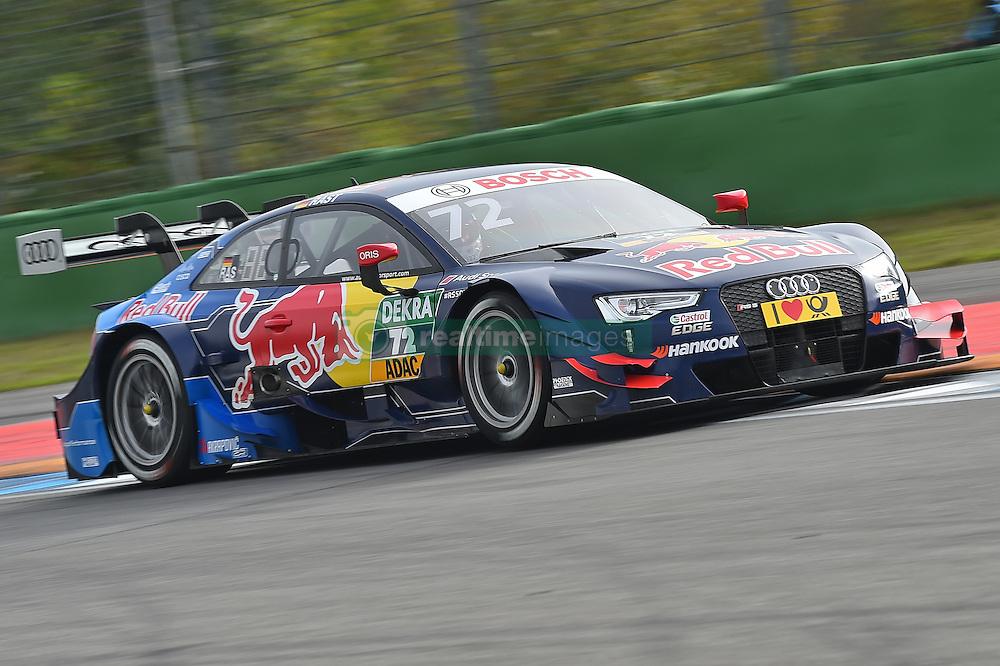 René Rast (Audi Sport Team Rosberg)  beim DTM Saisonfinale in Hockenheim<br /> <br />  / 161016<br /> <br /> ***German Touring Car Championship in Hockenheim, Germany, October 16, 2016 ***