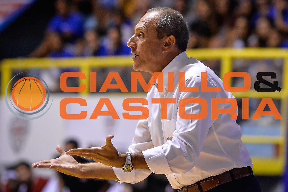 Ettore Messina<br /> Nazionale Italiana Maschile Senior - Sardegna a Canestro 2017<br /> Italia - Turchia Italy - Turkish <br /> FIP 2017<br /> Cagliari, 13/08/2017<br /> Foto M.Ozbot / Ciamillo-Castoria