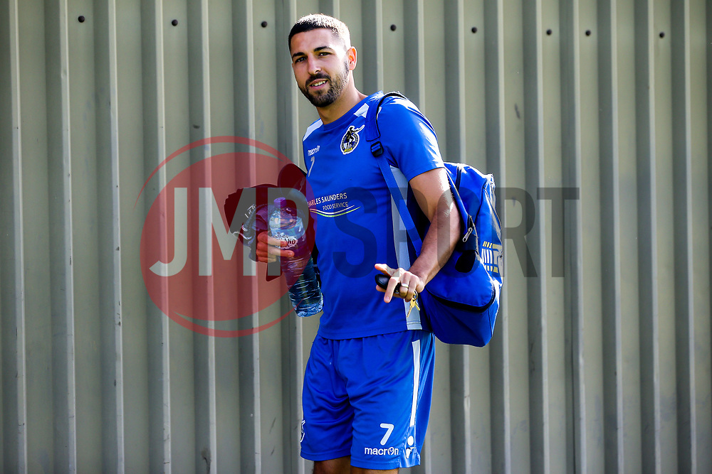 Liam Sercombe of Bristol Rovers arrives for the first day of preseason training ahead of the 2019/20 Sky Bet League One Season - Mandatory by-line: Robbie Stephenson/JMP - 27/06/2019 - FOOTBALL - The Lawns - Bristol, England - Bristol Rovers Return for Preseason Training