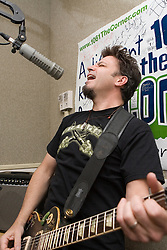 David Lowery and Johnny Hickman (pictured) of Cracker performed in the studios of 106.1FM's The Corner on March 2, 2007 in Charlottesville, VA.