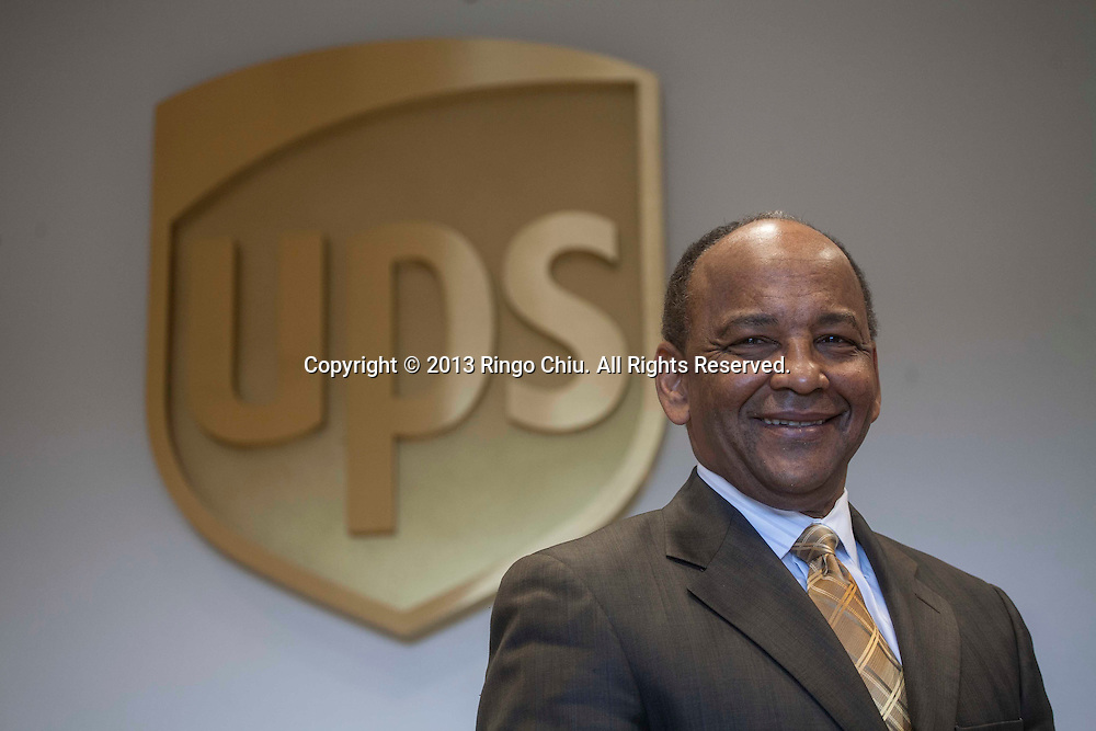 Noel Massie, regional manager for UPS in Los Angeles.<br /> (Photo by Ringo Chiu/PHOTOFORMULA.com)