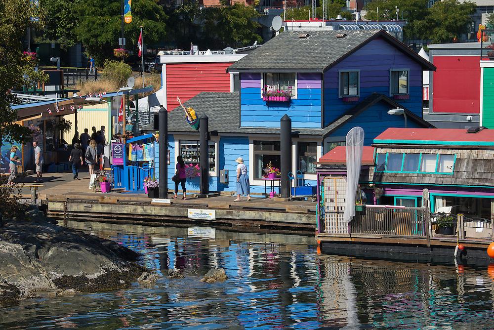 Canada, British Columbia, Vancouver Island, Victoria, Fishermen's Wharf,