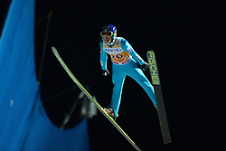 21.11.2014, Vogtland Arena, Klingenthal, GER, FIS Weltcup Ski Sprung, Klingenthal, Herren, HS 140, Qualifikation, im Bild Jarkko Maeaettae (FIN) // during the mens HS 140 qualification of FIS Ski jumping World Cup at the Vogtland Arena in Klingenthal, Germany on 2014/11/21. EXPA Pictures © 2014, PhotoCredit: EXPA/ Eibner-Pressefoto/ Harzer<br /> <br /> *****ATTENTION - OUT of GER*****