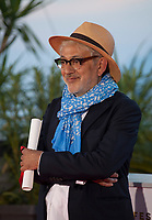 Director Elia Suleiman, winner of the Special Mention award for the film It Must Be Heaven at the Palme D'Or Award photo call at the 72nd Cannes Film Festival, Saturday 25th May 2019, Cannes, France. Photo credit: Doreen Kennedy