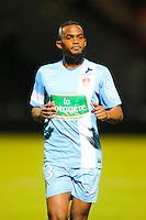 Wilfried MOIMBE  - 26.01.2015 - Angers / Brest - 21eme journee de Ligue 2 -<br /> Photo : Vincent Michel / Icon Sport