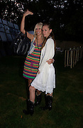 Kimberley Stewart and Ruby Stewart. The Serpentine Summer party co-hosted by Jimmy Choo. The Serpentine Gallery. 30 June 2005. ONE TIME USE ONLY - DO NOT ARCHIVE  © Copyright Photograph by Dafydd Jones 66 Stockwell Park Rd. London SW9 0DA Tel 020 7733 0108 www.dafjones.com