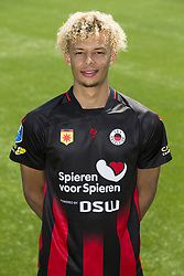 Desevio Payne during the team presentation of Excelsior Rotterdam on July 13, 2018 at the Van Donge & De Roo stadium in Rotterdam, The Netherlands