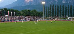 25.05.2010, Dolomitenstadion, Lienz, AUT, FIFA Worldcup Vorbereitung, Kamerun vs Georgien im Bild Stadionübersicht, EXPA Pictures © 2010, PhotoCredit: EXPA/ J. Feichter / SPORTIDA PHOTO AGENCY