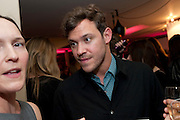 WILL YOUNG, InStyle's Best Of British Talent Party in association with Lancome. Shoreditch HouseLondon. 25 January 2011, -DO NOT ARCHIVE-© Copyright Photograph by Dafydd Jones. 248 Clapham Rd. London SW9 0PZ. Tel 0207 820 0771. www.dafjones.com.