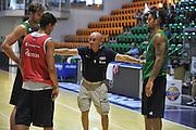 Sassari 14 Agosto 2012 - Qualificazioni Eurobasket 2013 -Allenamento<br /> Nella Foto : TEAM ITALIA LUCA DALMONTE<br /> Foto Ciamillo
