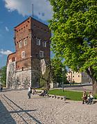 Baszta Złodziejska na zamku wawelskim, Kraków, Polska<br /> The Thief Tower at Wawel Castle, Cracow, Poland