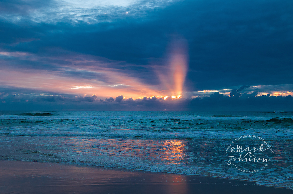 Sunrise on Moreton Island, Queensland, Australia