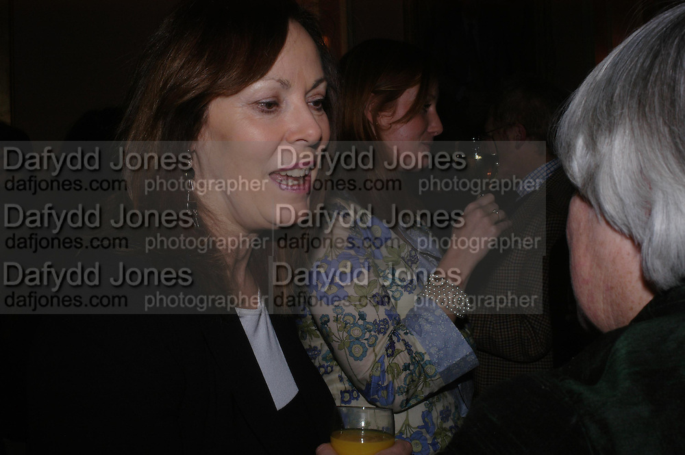 Rose Tremaine. Book party for 'Saturday' by Ian McEwan, Polish Club, South Kensington.  4 February 2005. ONE TIME USE ONLY - DO NOT ARCHIVE  © Copyright Photograph by Dafydd Jones 66 Stockwell Park Rd. London SW9 0DA Tel 020 7733 0108 www.dafjones.com