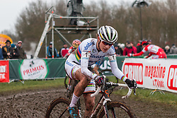 Marianne Vos (NED), Women, Cyclo-cross World Cup Hoogerheide, The Netherlands, 25 January 2015, Photo by Pim Nijland / PelotonPhotos.com