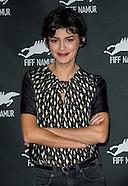 """Audrey Tautou, """"Coup de coeur"""" du Festival International du Film Francophone, Namur, Belgique"""