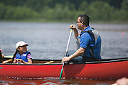 Canoeing and kayaking were among the activities at the Adirondack Mountain Club's Outdoor Expo at Mendon Ponds Park on Saturday, June 11, 2016.