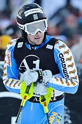 23.01.2011, Hahnenkamm, Kitzbuehel, AUT, FIS World Cup Ski Alpin, Men, Slalom, im Bild // Markus Larsson (SWE) // during the men slalom race at the FIS Alpine skiing World cup in Kitzbuehel, EXPA Pictures © 2011, PhotoCredit: EXPA/ S. Zangrando