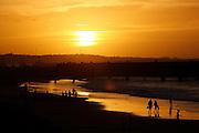 Fortaleza_CE.<br /> <br /> Por do sol na praia de Iracema, Fortaleza, Ceara.<br /> <br /> The sunset in Iracema beach, Fortaleza, Ceara.<br /> <br /> Foto:  BRUNO MAGALHAES / NITRO