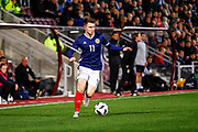 Glenn Middleton Scotland U21s (Rangers FC) during the U21 UEFA EUROPEAN CHAMPIONSHIPS match Scotland vs England at Tynecastle Stadium, Edinburgh, Scotland, Tuesday 16 October 2018.