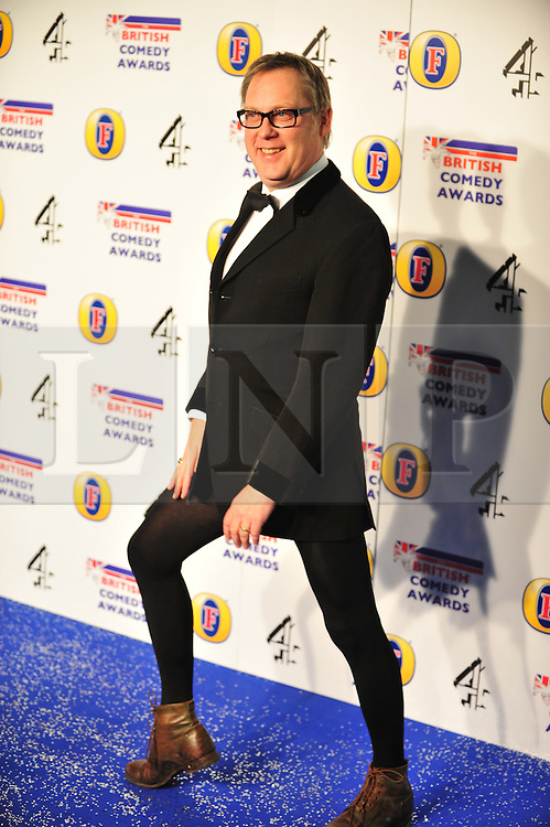 © Licensed to London News Pictures. 16/12/2011. London, England. Vic Reeves attends the Channel 4 British Comedy Awards  in Wembley London .  Photo credit : ALAN ROXBOROUGH/LNP