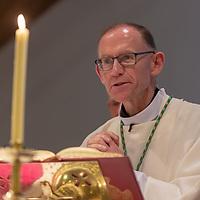 bishop of Killaloe Fintan Monahan at the Rededication of St John's Church, Clooney