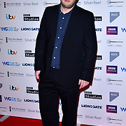 Marek Larwood attends The Writers' Guild Awards at Royal College of Physicians on 15th January 2018.