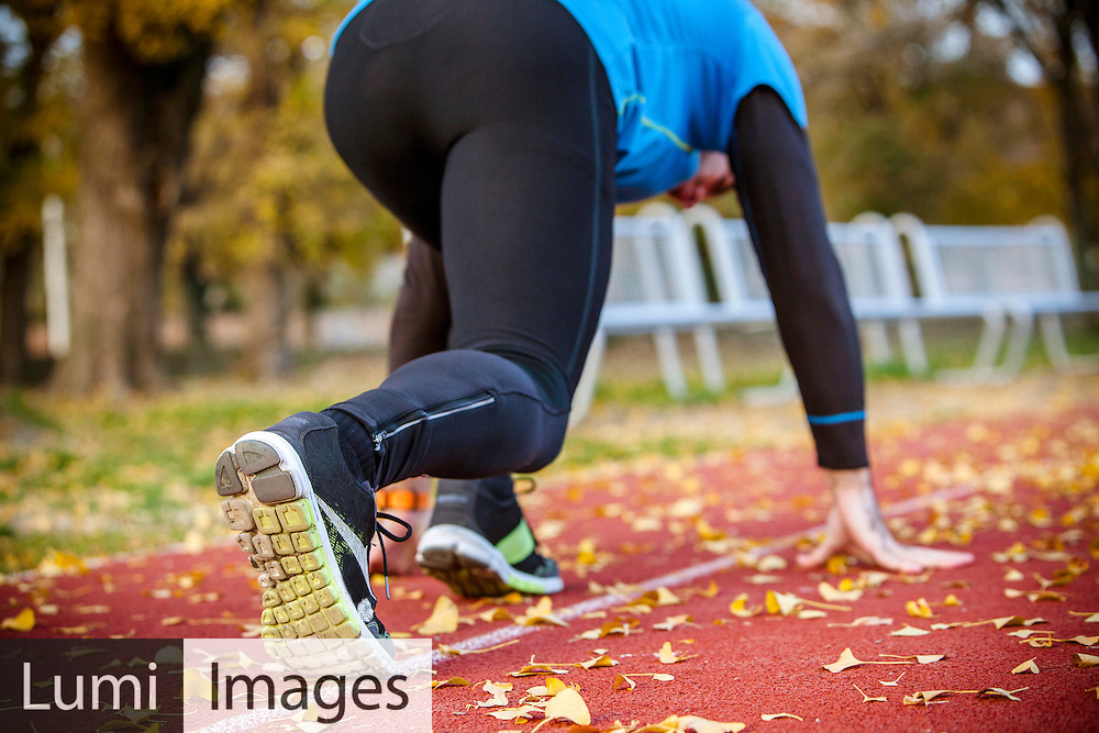 Men, Sprinting, Beginnings, Running Track, Preparation, Leaf,