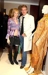 JACOBI ANSTRUTHER-GOUGH-CALTHORPE and MISS ALICE RUGGE PRICE  at the UK launch of Tarun Tahiliani Design in association with the British Luxury Council held at The Knightsbridge, London SW7 on 10th March 2005.<br />