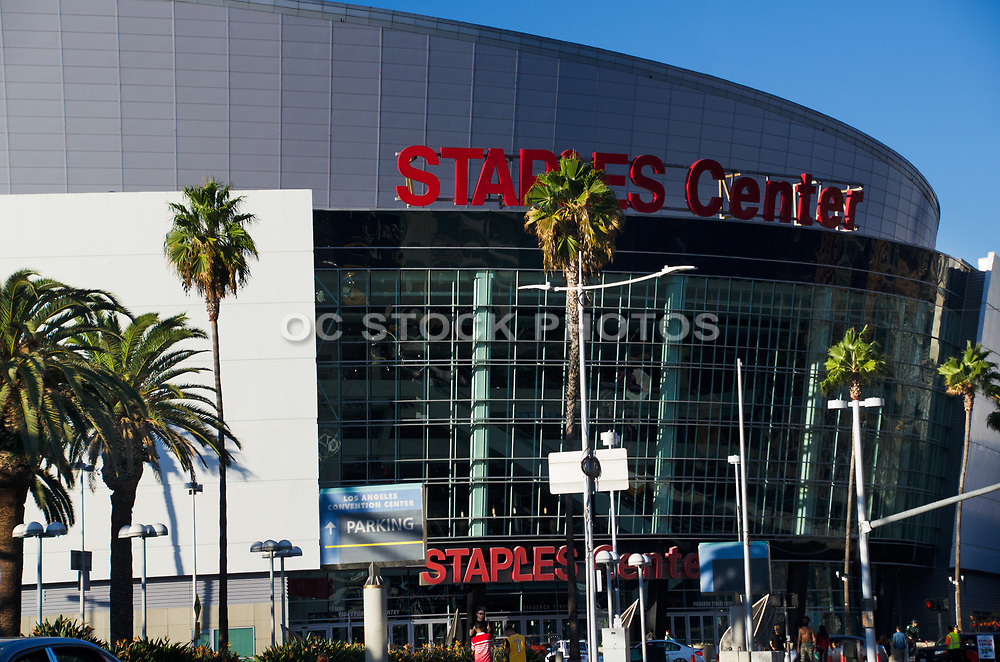 Staples Center Multi-Purpose Sports Arena Los Angeles California