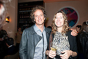 YVES BEHAR; JULIA CHAPLIN, Aby Rosen & Samantha Boardman Dinner at Solea,Collins ave,  Miami Beach. 2 December 2010. -DO NOT ARCHIVE-© Copyright Photograph by Dafydd Jones. 248 Clapham Rd. London SW9 0PZ. Tel 0207 820 0771. www.dafjones.com.