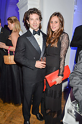 SAM & ANNABEL WALEY-COHEN and at the Sugarplum Dinner in aid Sugarplum Children a charity supporting children with type 1 diabetes and raising funds for JDRF, the world's leading type 1 diabetes research charity held at One Marylebone, London on 18th November 2015.