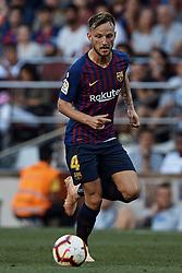 September 29, 2018 - Barcelona, Barcelona, Spain - Ivan Rakitic of FC Barcelona in action during the La Liga match between FC Barcelona and Athletic Club de Bilbao at Camp Nou on September 29, 2018 in Barcelona, Spain  (Credit Image: © David Aliaga/NurPhoto/ZUMA Press)