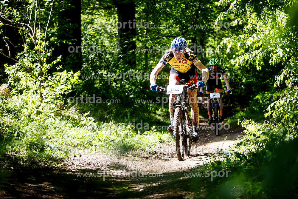 Cross Country XC Mountain bike race for Slovenian National Championship in Kamnik, on April 30, 2016 in Kamnik, Slovenia. Photo by Grega Valancic / Sportida