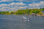 Float plane on Lake of the Woods<br />