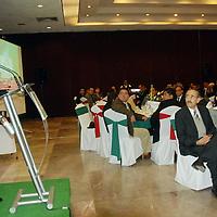 Toluca, Mex.- Ricardo Aguilar Castillo, líder del PRI, durante la celebración de Día del Médico, recordó que este instituto fue el creador de la red de salud (IMSS, ISSSTE y en el estado el ISSEMyM) con la que cuenta México, así como la red educativa como es la UNAM, IPN y la UAM. Agencia MVT / José Hernández. (DIGITAL)<br /> <br /> <br /> <br /> NO ARCHIVAR - NO ARCHIVE