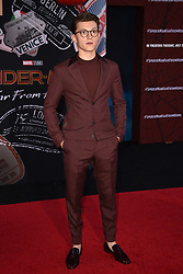 """Tom Holland attends the Premiere of Sony Pictures' """"Spider-Man Far From Home"""" at TCL Chinese Theatre on June 26, 2019 in Los Angeles, CA, USA. Photo by Lionel Hahn/ABACAPRESS.COM"""