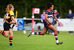 Lagi Tuima of Bristol Ladies in action - Mandatory by-line: Craig Thomas/JMP - 17/09/2017 - Rugby - Cleve Rugby Ground  - Bristol, England - Bristol Ladies  v Richmond Ladies - Women's Premier 15s