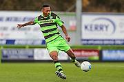 Forest Green Rovers Ethan Pinnock(16) on the ball during the Vanarama National League match between Forest Green Rovers and Lincoln City at the New Lawn, Forest Green, United Kingdom on 19 November 2016. Photo by Shane Healey.