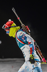February 12, 2018 - Pyeongchang, Gangwon, South Korea - Veronika Vitkova of Czech Republic competing at Women's 10km Pursuit, Biathlon, at olympics at Alpensia biathlon stadium, Pyeongchang, South Korea. on February 12, 2018. (Credit Image: © Ulrik Pedersen/NurPhoto via ZUMA Press)