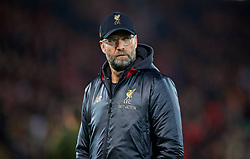 LIVERPOOL, ENGLAND - Saturday, December 29, 2018: Liverpool's manager Jürgen Klopp during the pre-match warm-up before the FA Premier League match between Liverpool FC and Arsenal FC at Anfield. (Pic by David Rawcliffe/Propaganda)