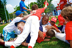 the Cardinal Comeback kids won the final of Mt Airy Basebal Championships AAA by two runs (from the Mt Airy atlathics (8-6) (Bas Slabbers/for NewsWorks)