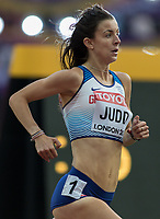 Athletics - 2017 IAAF London World Athletics Championships - Day One<br /> <br /> Event: Womens 1500m Qualifying Heat 1 <br /> <br /> Jessica Judd (GBR)<br /> <br /> COLORSPORT/DANIEL BEARHAM