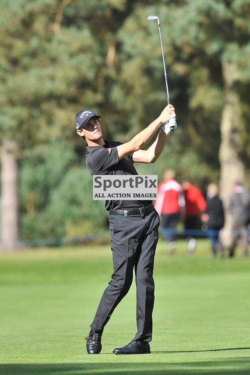 Thomas Pieters Belgium, British Masters, European Tour, Woburn Golf Club, 8th October 2015