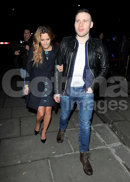 Caroline Flack at the I Can't Sing opening night party held at One Marylebone in London, UK. 26/03/2014<br />
