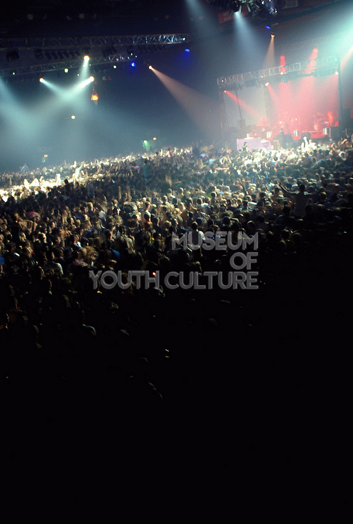 Crowd at Cream London Arena New Year's Eve December 1998