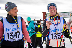 02-03-2019 SWE: Vasaloppet Challenge BvdGF, MoraToday the Blabärsloppet for Michelle. Blabärsloppet, 9 km from Eldris to Mora cross-country skiing.