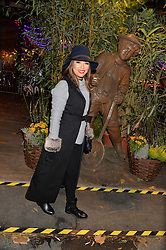 EVA LONGORIA at the Hyde Park Winter Wonderland - VIP Preview Night, Hyde Park, London on 17th November 2016.