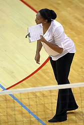 17 October 2015:  Niece Curry during an NCAA women's volleyball match between the Southern Illinois Salukis and the Illinois State Redbirds at Redbird Arena in Normal IL (Photo by Alan Look)