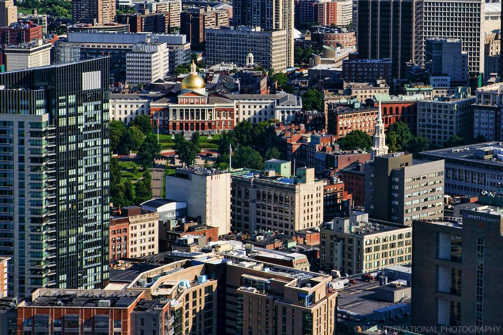 Massachusetts State House, Downtown Boston