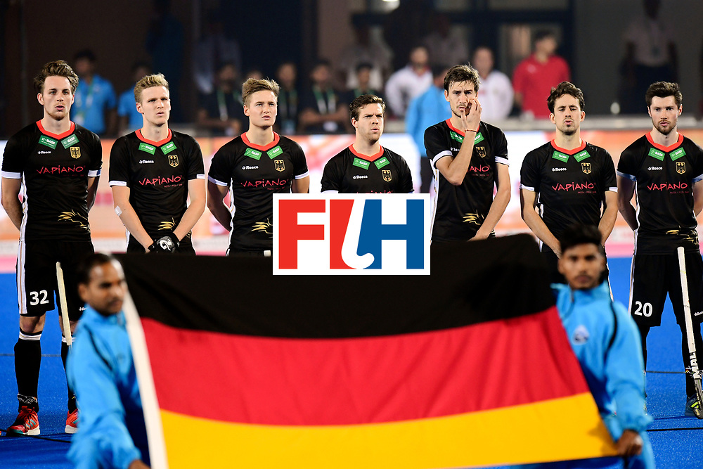 Odisha Men's Hockey World League Final Bhubaneswar 2017<br /> Match id:16<br /> Germany v Netherlands<br /> Foto: Line Up<br /> COPYRIGHT WORLDSPORTPICS FRANK UIJLENBROEK